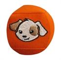 Bild von Augenklappe STANDARD - Hund (orange)