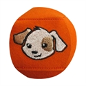 Bild von Augenklappe MINI - Hund  (orange)