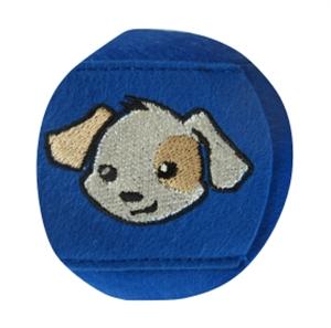 Bild von Augenklappe STANDARD - Hund (blau)